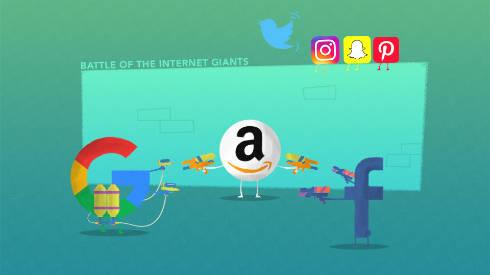 Battle of the Internet Giants: The 2017 Review