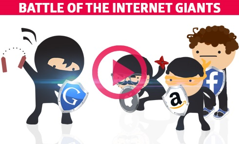 Battle of the Internet Giants: Apple vs The Free Web (Video)