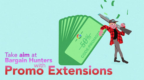 Target Bargain Hunters With AdWords Promotion Extensions