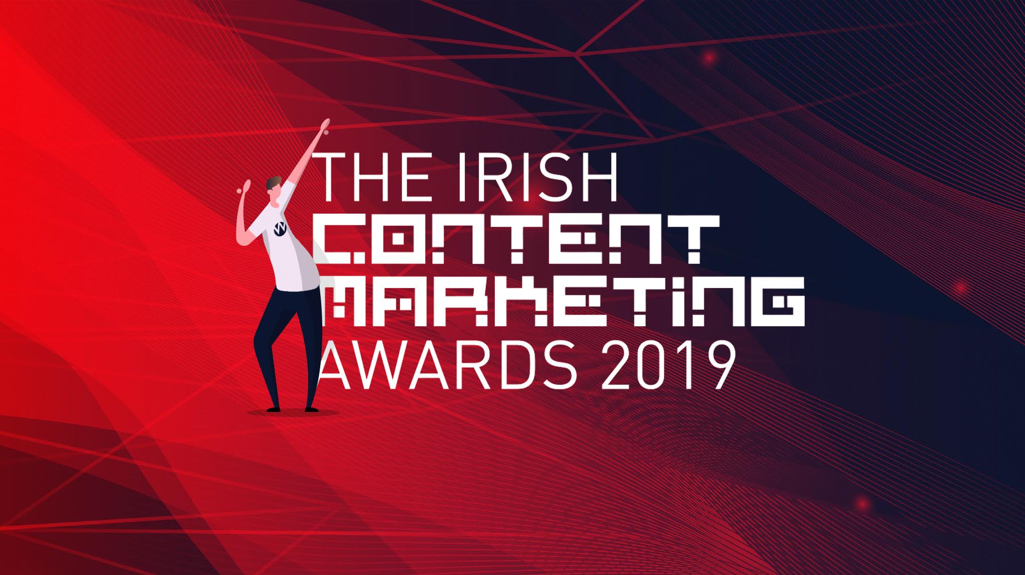Wolfgang Celebrate Two Wins at The Irish Content Marketing Awards