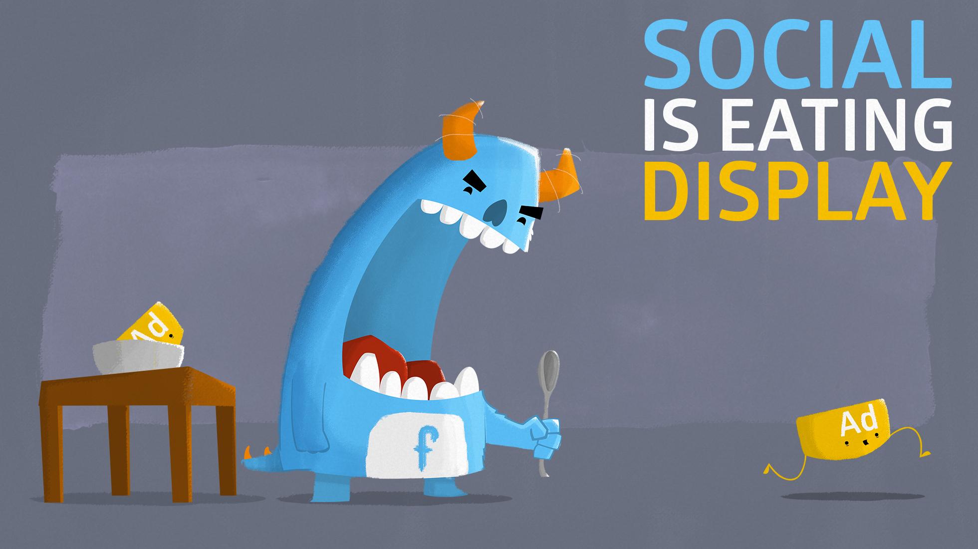 Social Is Eating Display