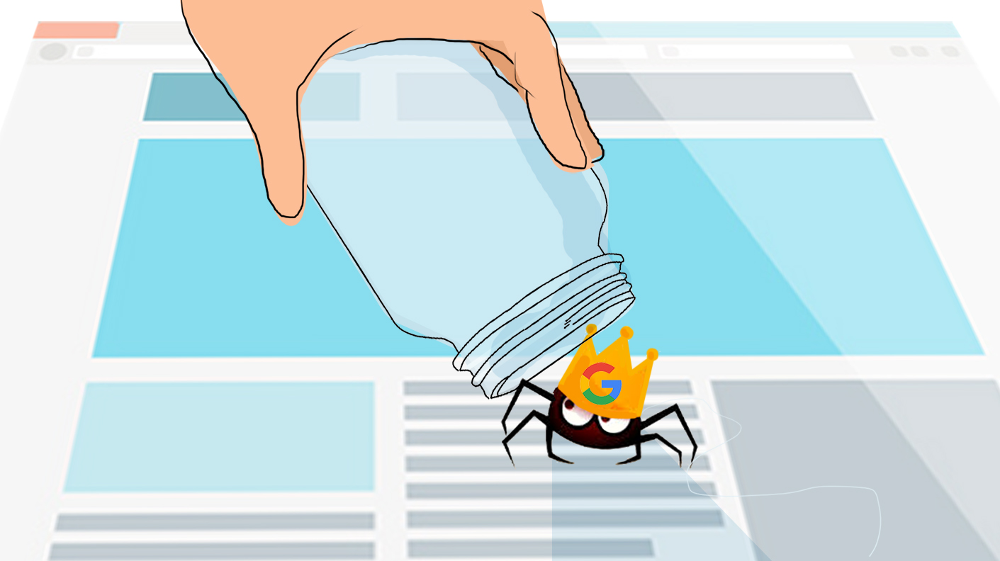 Google spider crawler SEO webmarketing