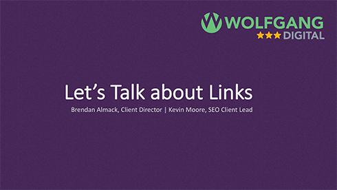 Let's Talk About Links - 3XE Slides
