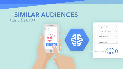 Similar Audiences for Search: Create new audiences based on your most valuable existing customers