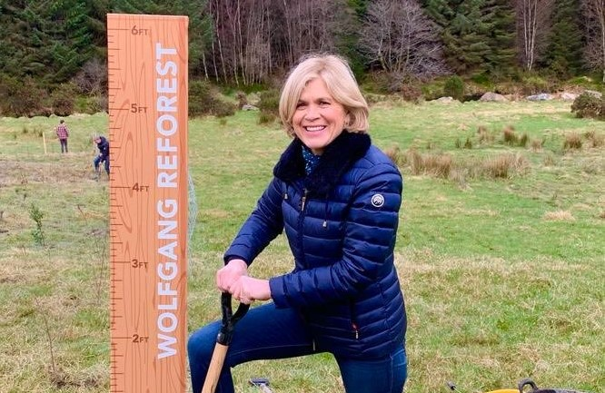 Wolfgang Reforest on TV: RTE's Nationwide Joins Us For a Planting Day
