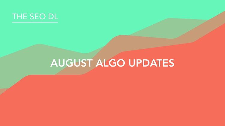 August Algo Updates 2017
