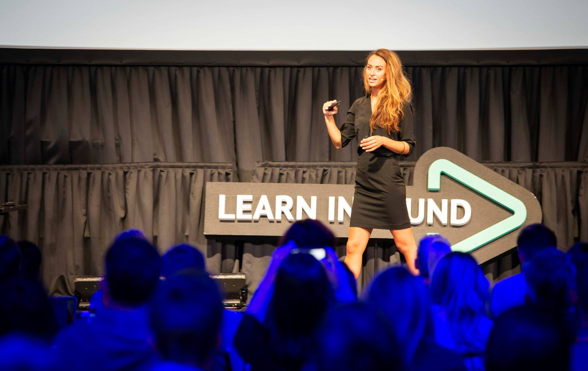 Britney Muller at Learn Inbound Dublin