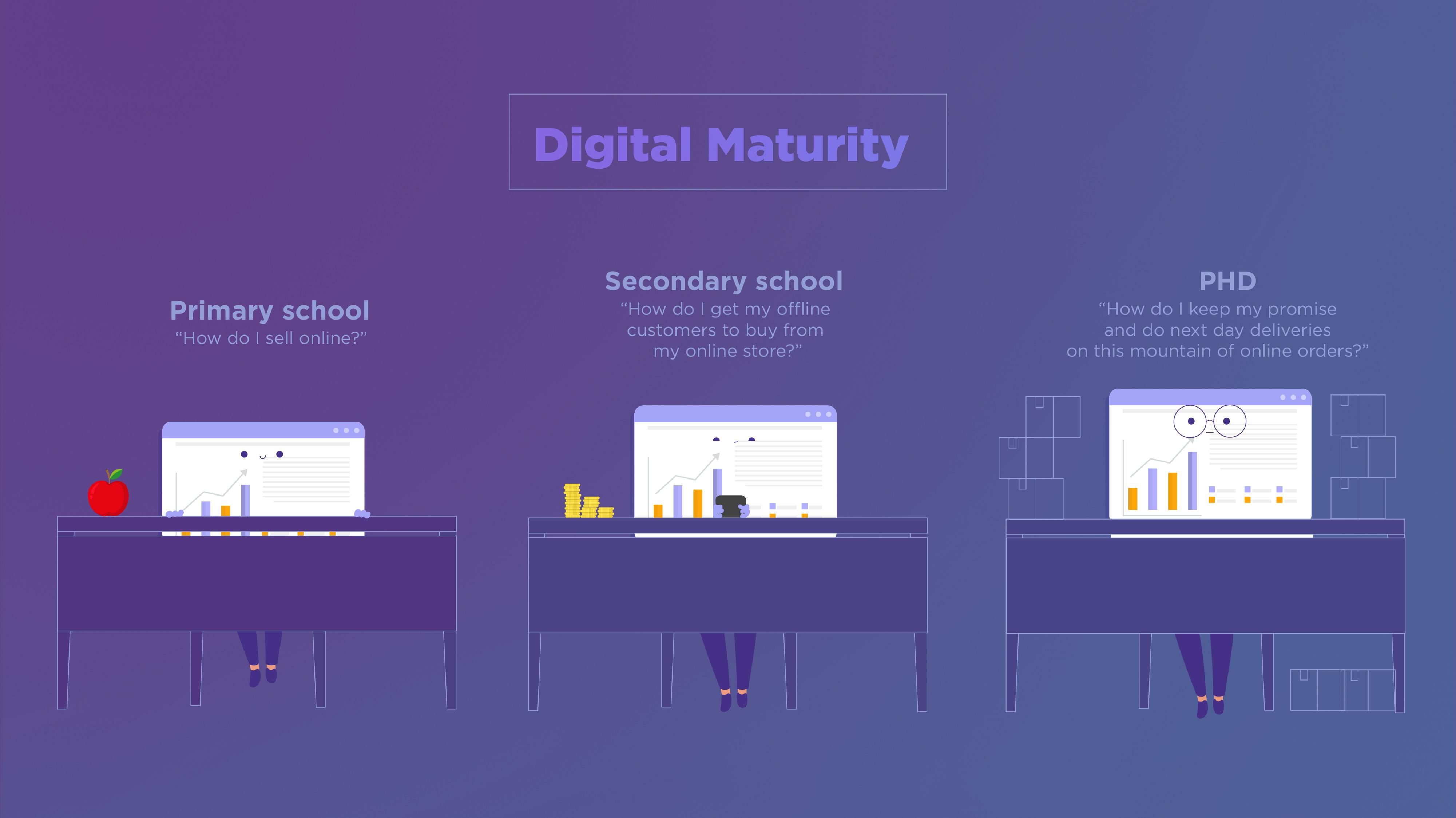 levels of digital maturity