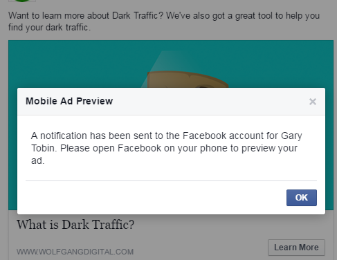 Social Hack #2: Preview Your Facebook Ads On Your Mobile