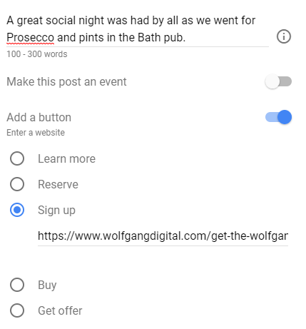 Google Posts - 3 - Wolfgang Digital