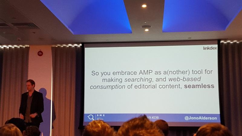 Jono Alderson on AMP