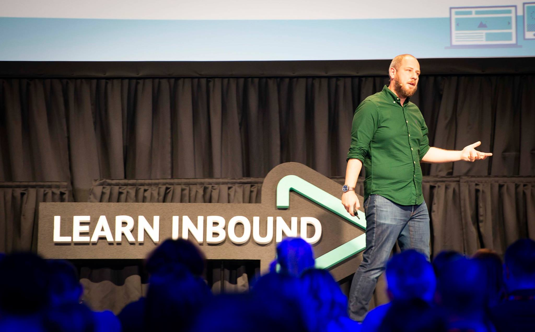 Paddy Moogan at Learn Inbound Dublin