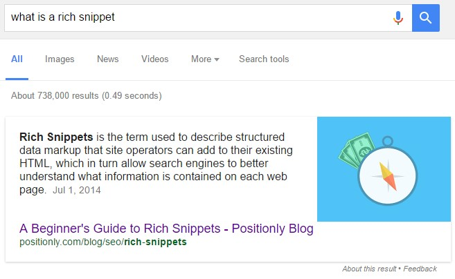 What is a Rich Snippet