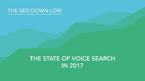 The State of Voice Search in 2017