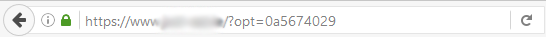 URL parameters causing spider traps