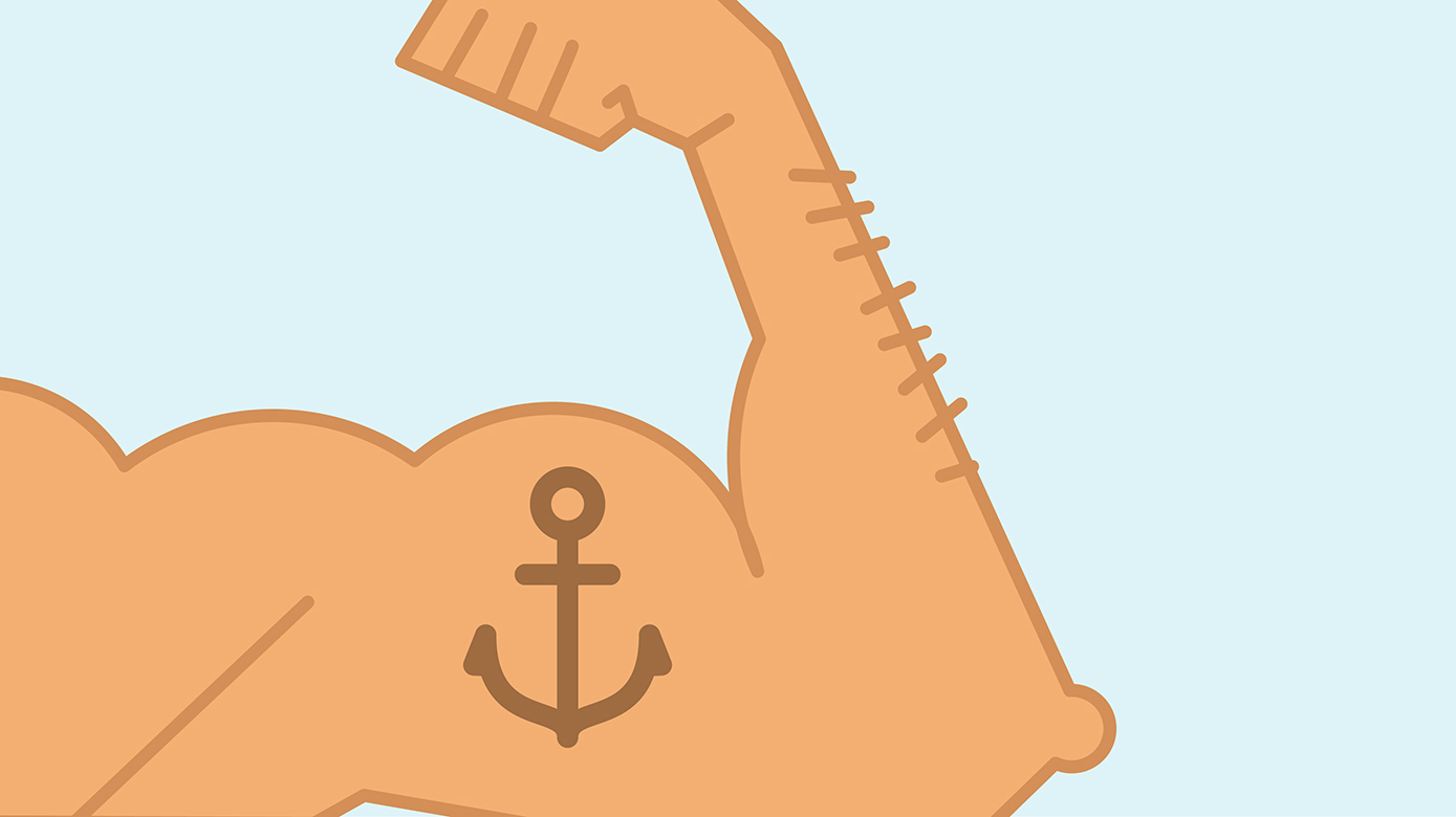 anchor text heavy muscles