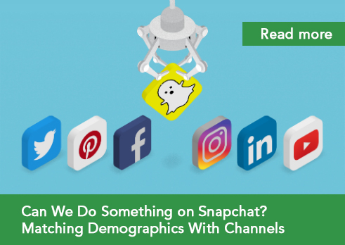 social media blog post demographic targeting