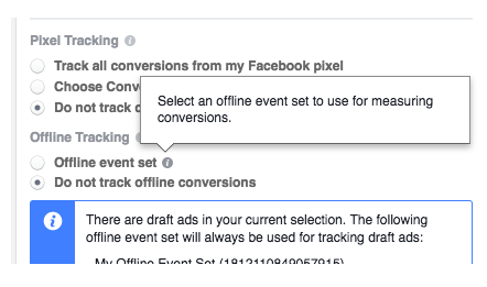 create offline events on facebook