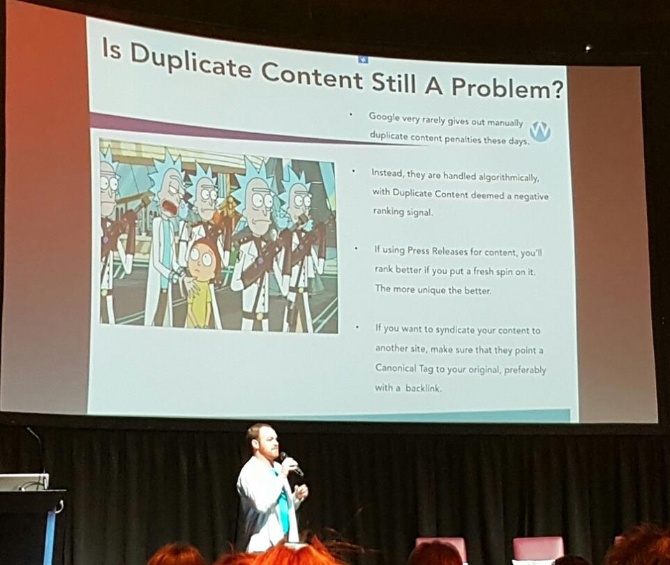 duplicate content seo talk
