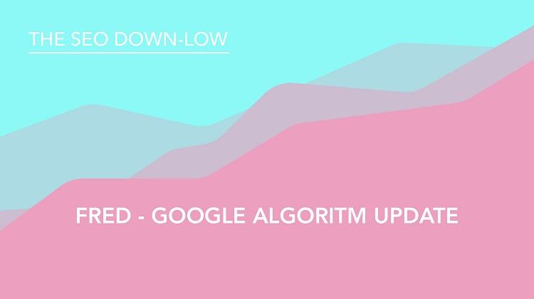 Google Algorithm Update - Fred