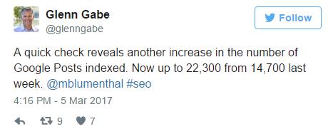 Glenn Gabe Tweet - SEO Down Low