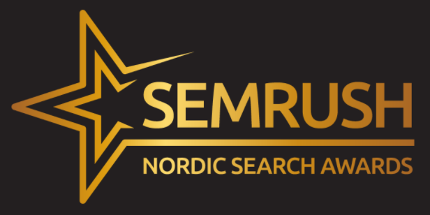 semrush nordic search awards logo