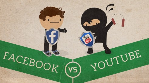 YouTube vs Facebook Video Battle